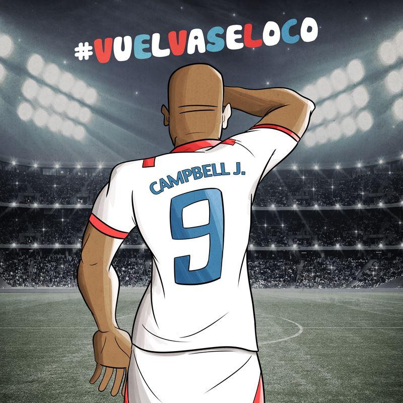 """Vuelvase loco Campbell"" por Kabek Gutiérrez."