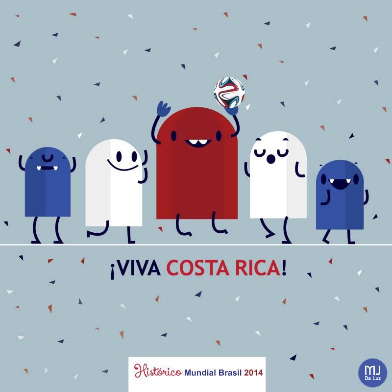 """¡Viva Costa Rica! Histórico Mundial"" por Mj Da Luz"