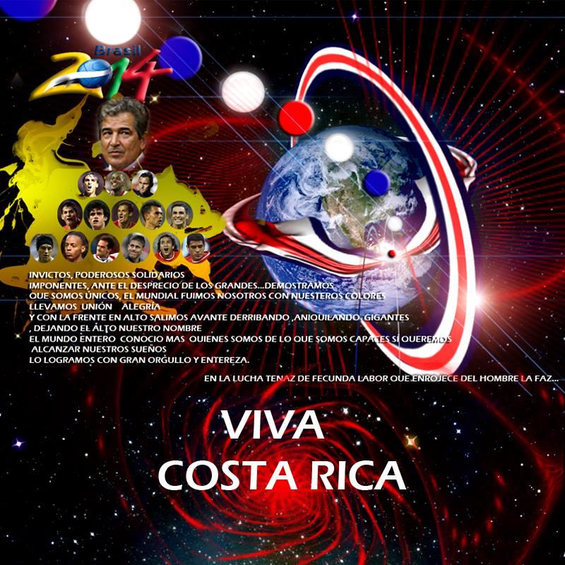 """Viva Costa Rica"" por Sandra Sandoval"