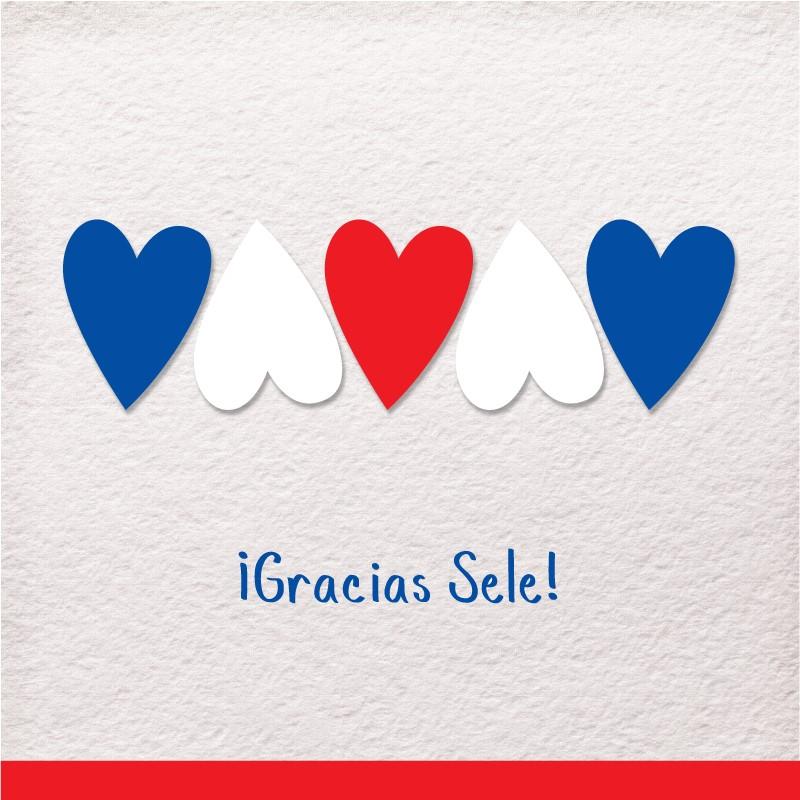 """Gracias Sele"" por Rebecca Alfaro"