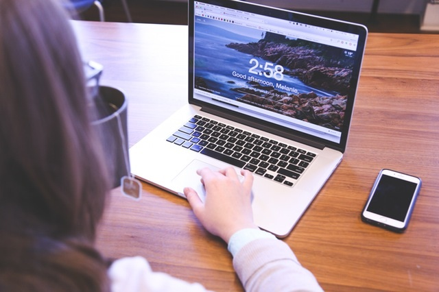 Logging in -- Photo from www.pexels.com CC0
