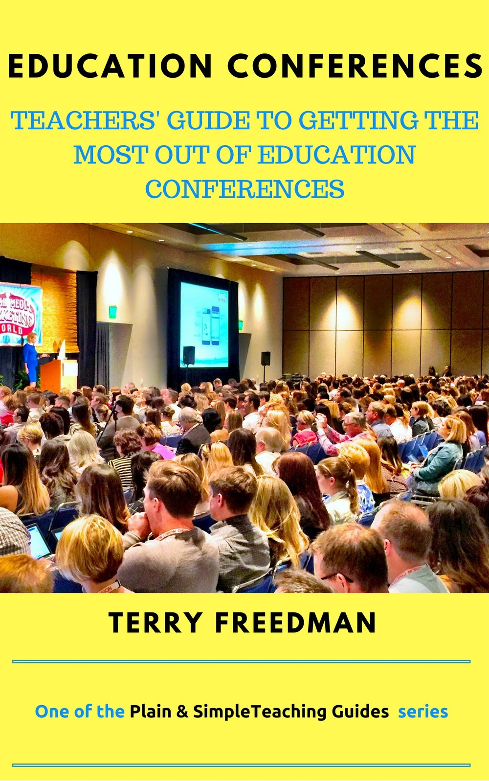 My latest book, on how to get the most out education conferences. Click on the pic to find out more (affiliate link) Special current price: $0.99 or £0.99!