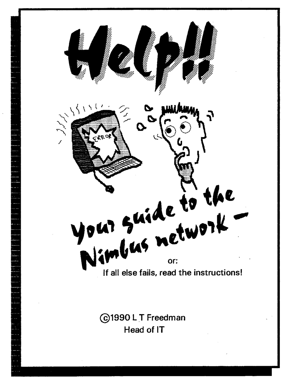 Cover of network manual