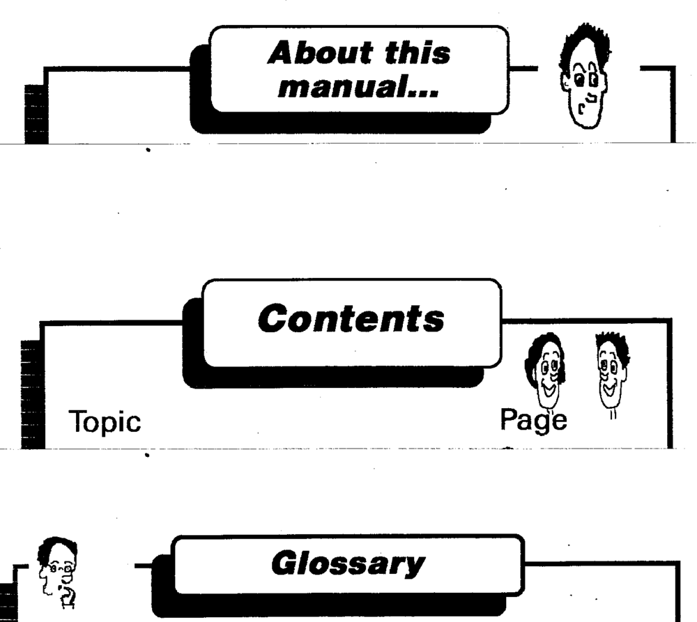 A selection of pages from the network manual.