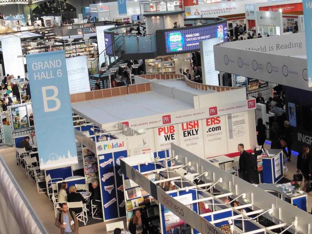 The London Book Fair 2017