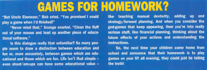 The article as it appeared in ST Format