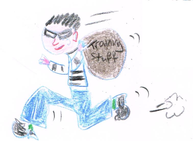 Burglar, by Terry Freedman