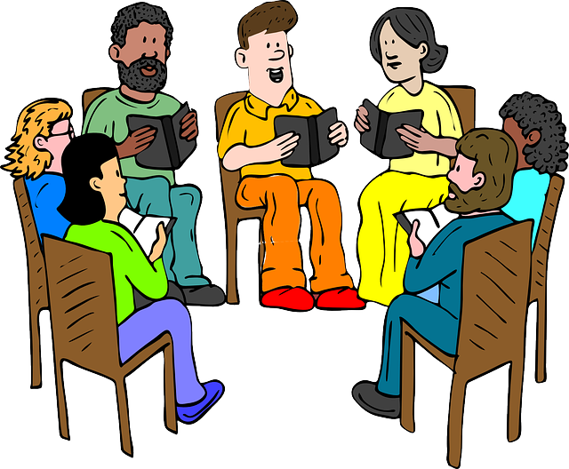 Start a teachers' reading group. Picture from Pixabay.com Licence: CCO