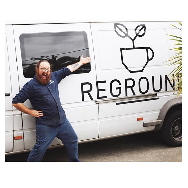 Had the pleasure of meeting this camera shy fella, Dave from Reground last week! Reground collects spent coffee grounds from local cafes  distributing this by-product to end users who then turn it into compost. Worms and citrus trees love it! 👏🏼 @_reground do an amazing job of diverting 'waste' from landfill every year. #compost #coffee #coffeegrounds #resource #zerowaste #localbusiness #sustainable #ethicalbusiness #reground