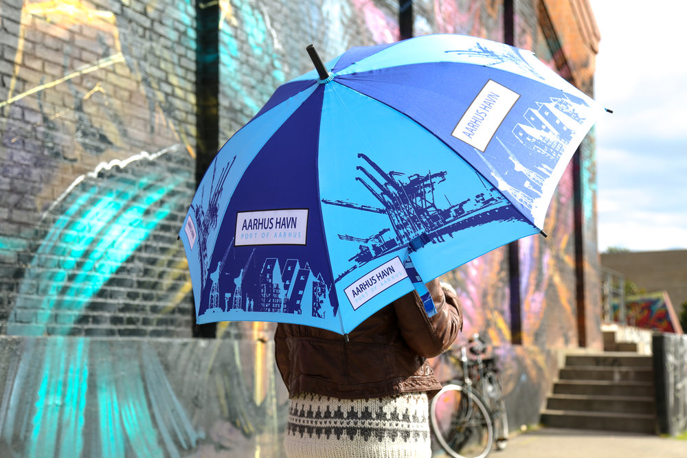 Aarhus Havn-paraply