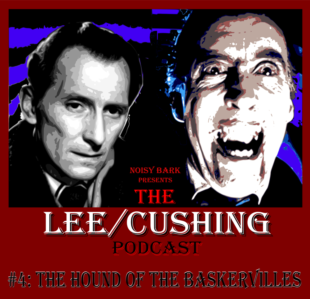 Following their Extra last month about Lee and Cushing's various separate Sherlock Holmes productions, Howard and Dan now turn their scrutiny on the one Sherlock Holmes film the two actors made together, 1959's Hammer Films production, The Hound of the Baskervilles.  This was the third of the classic Hammer Gothic horrors to team Cushing and Lee with director Terence Fisher and the cream of Hammer's creative team, with more of the crew returning from The Curse of Frankenstein - covered in the first episode of this podcast - and 1958's Dracula. We would like to offer our apologies for the fact that Howard and Dan occasionally bump the microphone in this episode.
