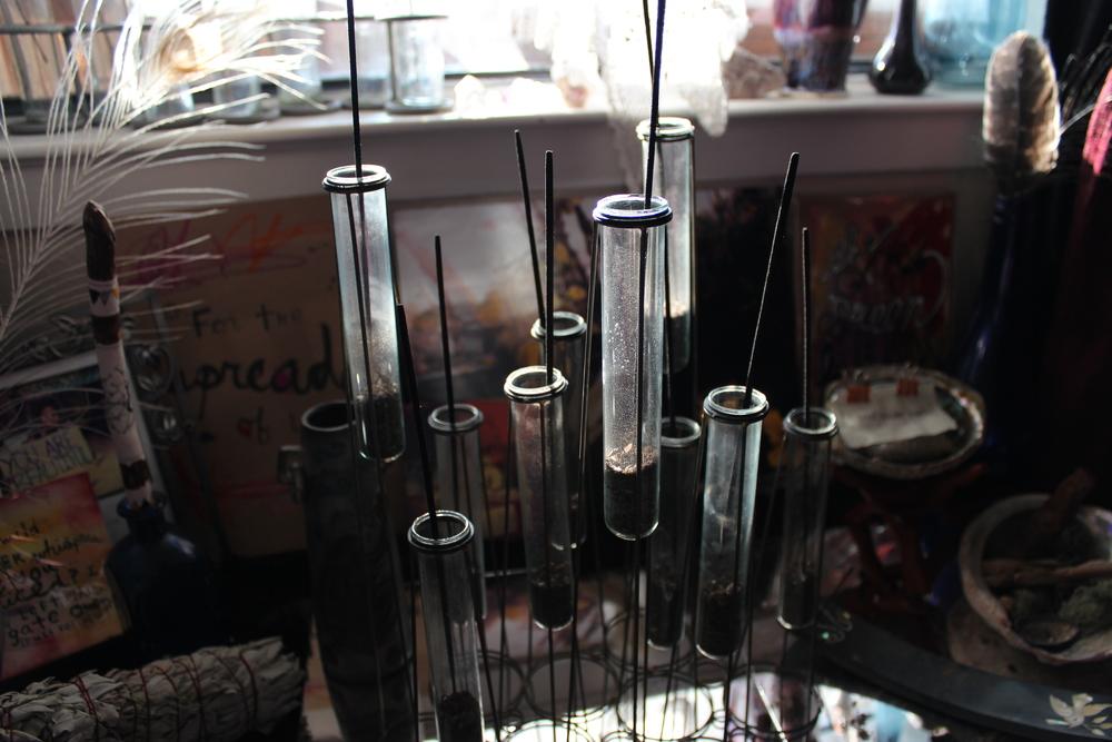 altar + incense