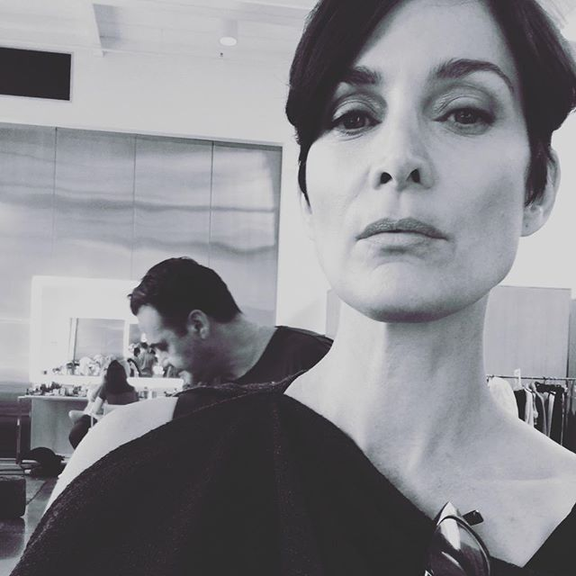 Carrie Anne Moss via AnnapurnaLiving.com Let us stop punishing ourselves for a body that doesn't look like the ones we were told we would have some day. Instead, let us touch our bodies with the healing of our own hands and hearts and words and finally, exhale into the beauty of our authenticity.