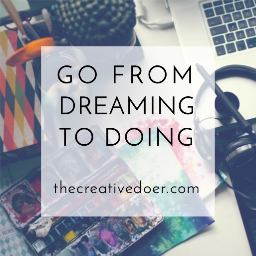 A gorgeous way to explore your creative dreams and bring them to life. The Creative Doer by Anna Lovind.