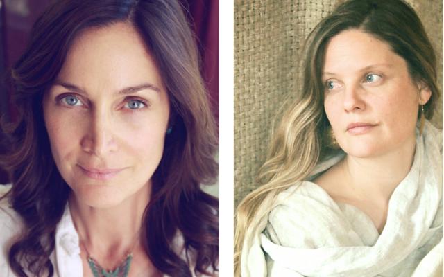 Carrie-Anne Moss + Natalie Christensen