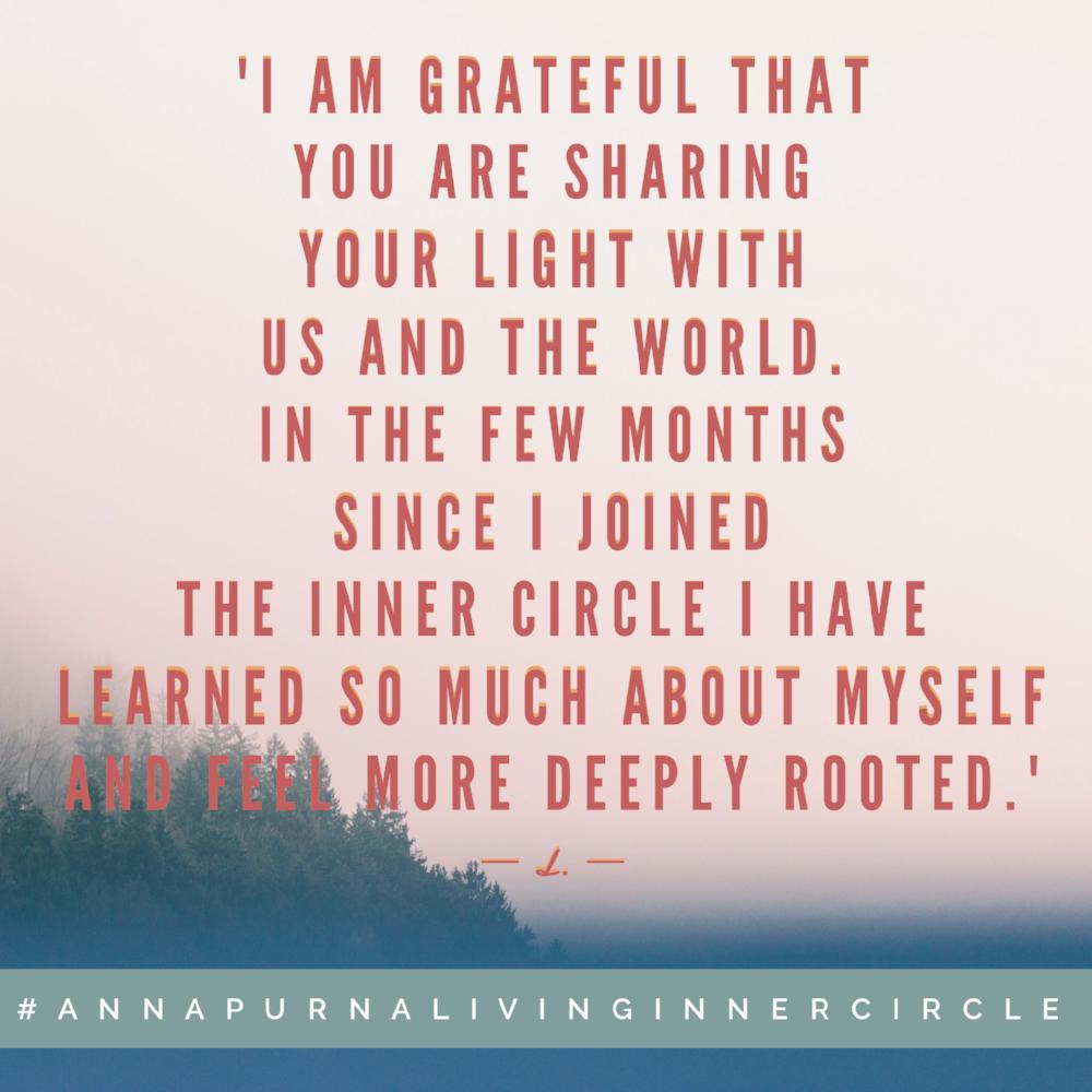 Annapurna Living Inner Circle