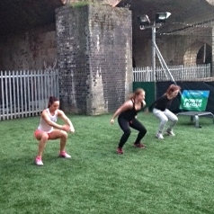 Incorporating legs exercises such as squats will force you to use your larger muscle groups - burning more energy.
