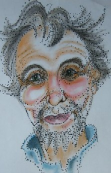 This cartoon image of me (when I was much younger!) was drawn by my friend Kay McGowan.