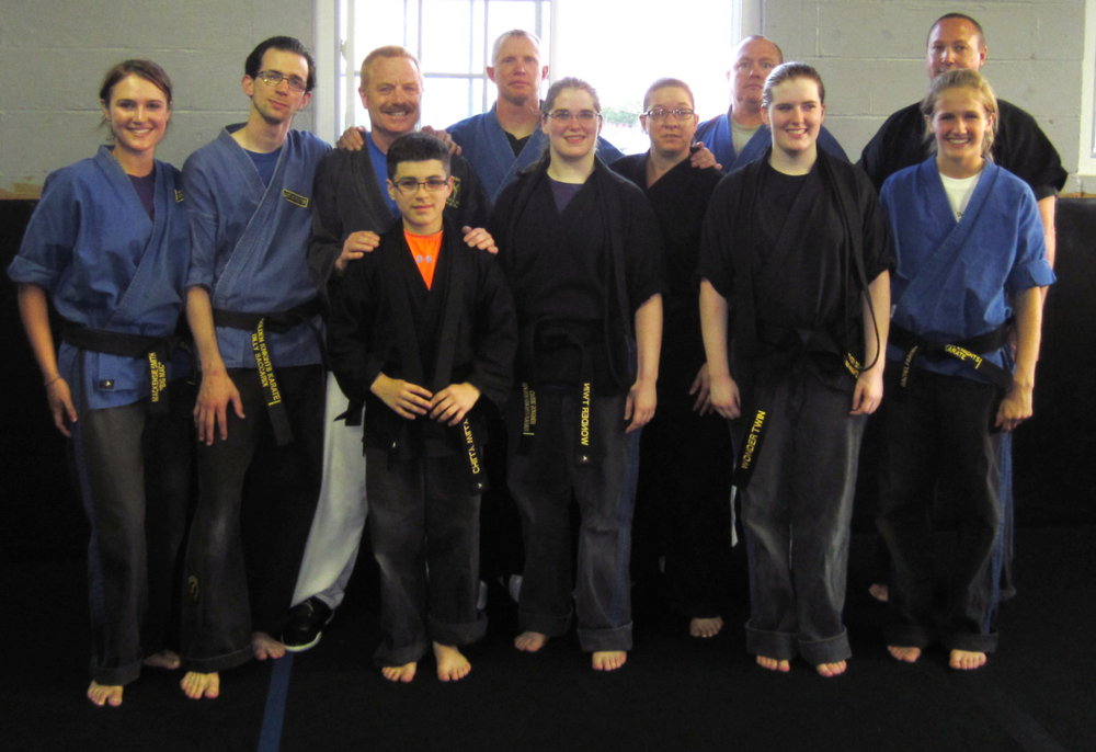 Recent First Degree Black Belt Recipients