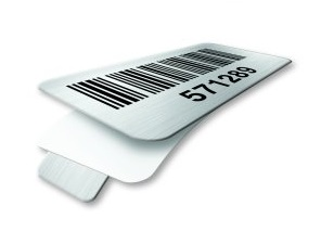 Tabbed Metal Bar Code by Metalcraft