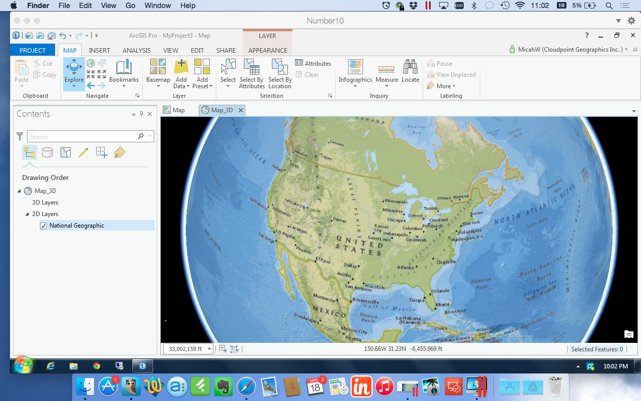 Using arcgis pro on a macbook pro cloudpoint geographics inc using arcgis pro on a macbook pro gumiabroncs Image collections