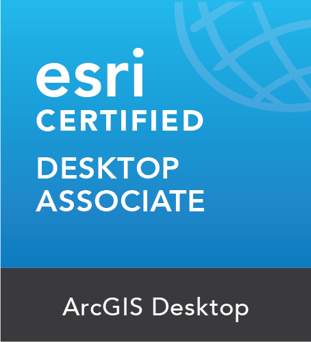 ArcGIS Desktop Associate Certificate