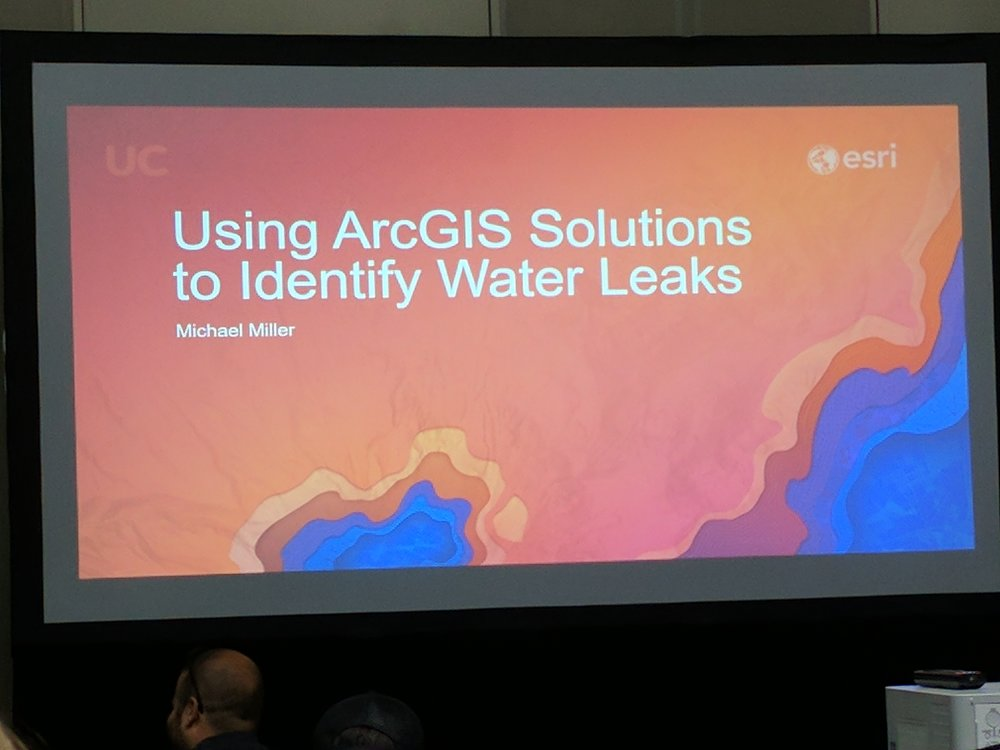 ArcGIS Solutions for water leaks