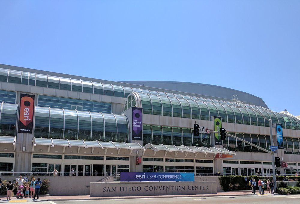 Every year thousands of GIS professionals gather in San Diego, California for Esri's annual User Conference. It was once again held at the San Diego Convention Center.