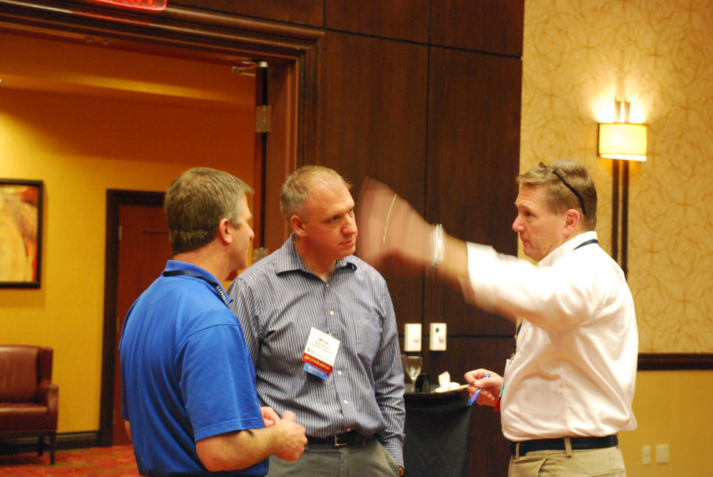 Micah Bill and Tom Krohn at ILGISA.jpg