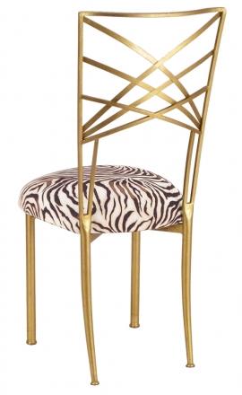 Gold Fanfare Zebra