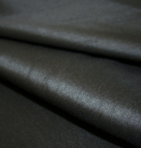 Faux Silk Black