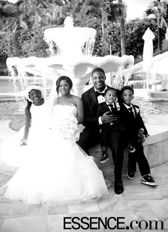 Essence.com - Arizona Cardinals Star Adrian Wilson's Vow Renewal