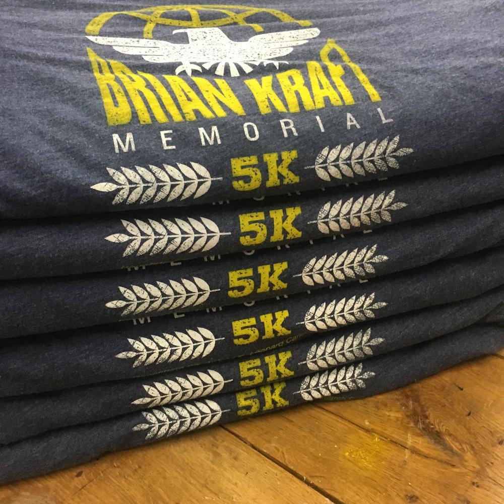Brian Kraft Memorial 5k - May 30, 2016.