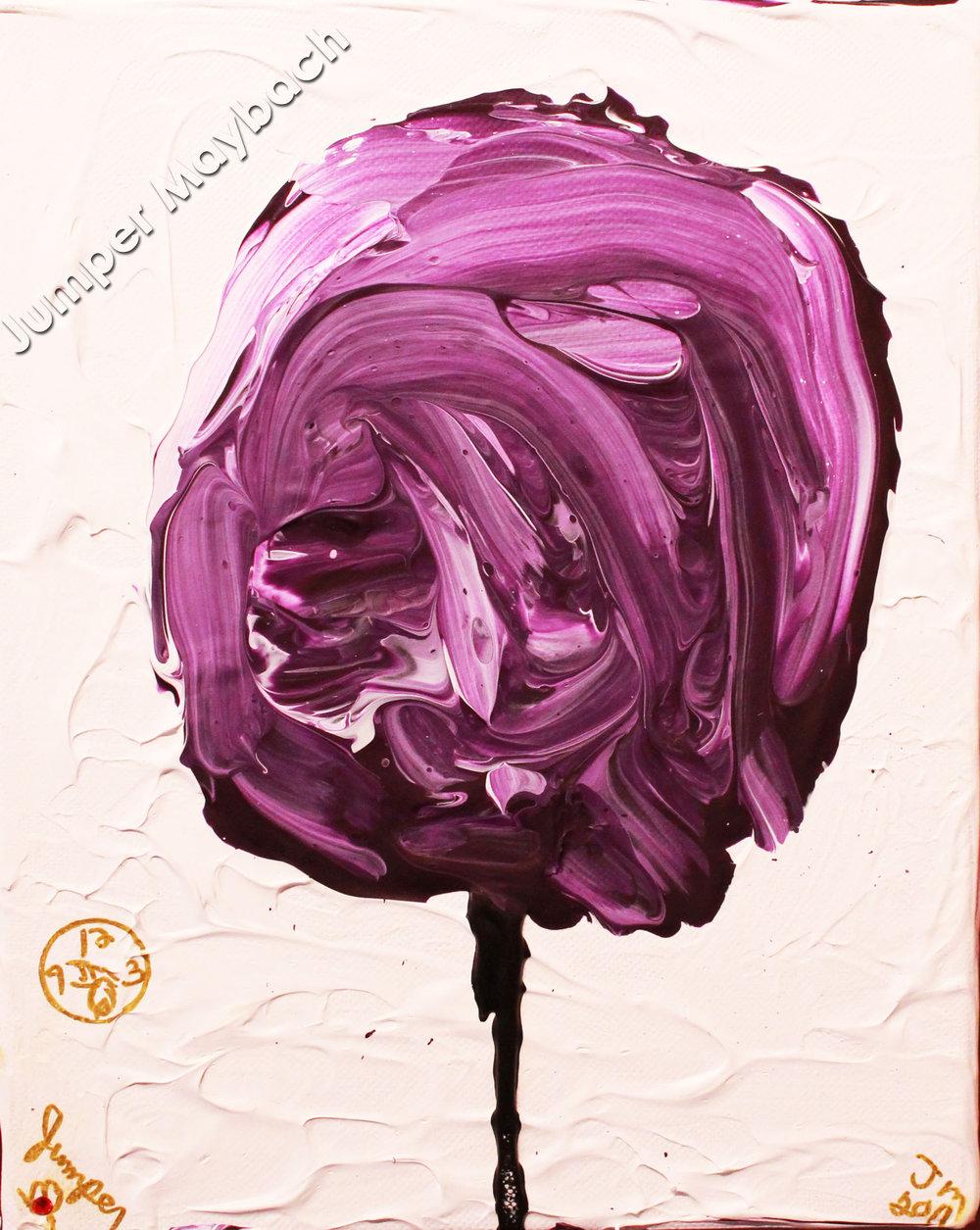 Violet Cotton Candy