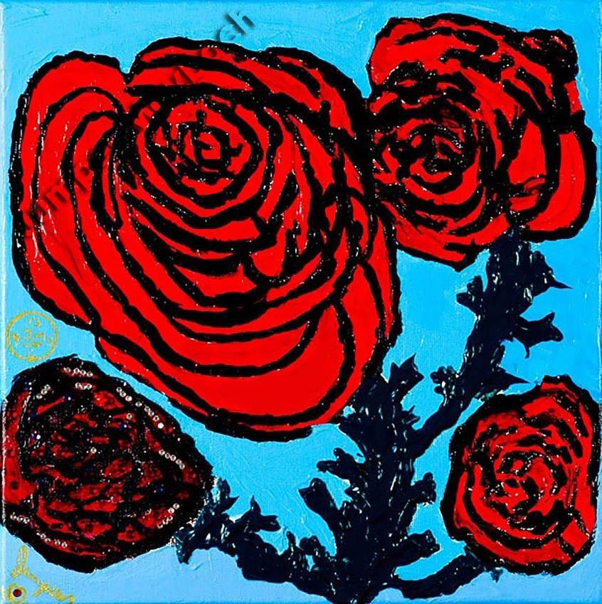 Rose Garden Life Print