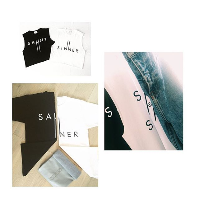Our website is having a face lift so will be down for a few weeks 😢  Fret not as our tees can still be bought with a simple DM or email at info@sauntandsinner.co.uk  We will be back soon with our new collection 😍😍 Happy shopping :) #saunt or #sinner  #shopping #tshirt #logotees #tees #sauntandsinner #blackandwhite #fashion #fashionbloggers #ootd