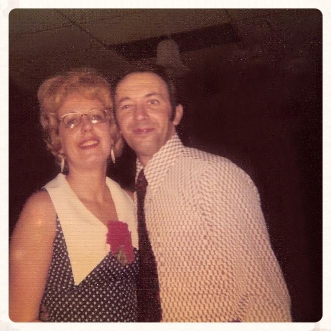 Carolyn and Sal rock 1973