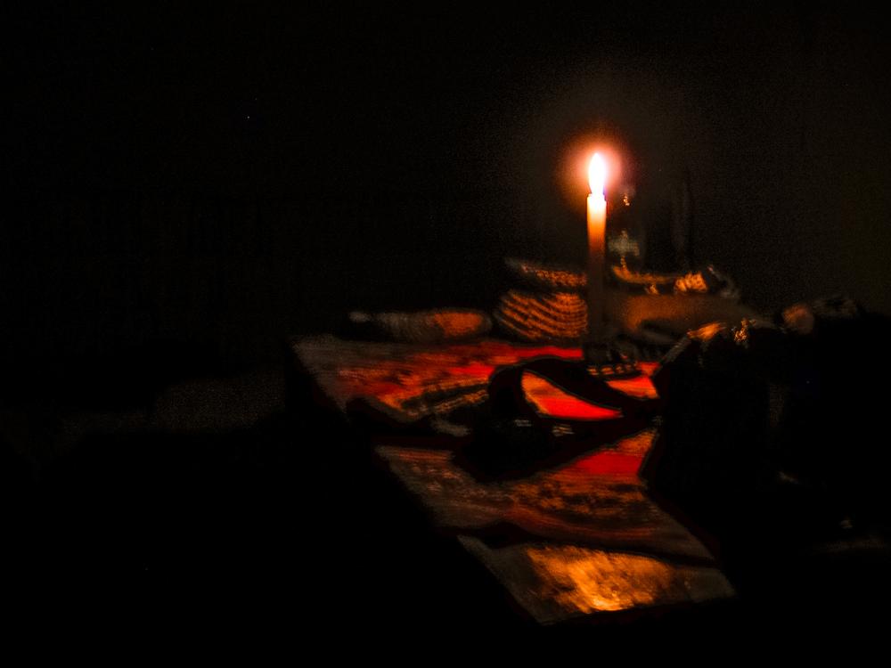 Night light in Amantani