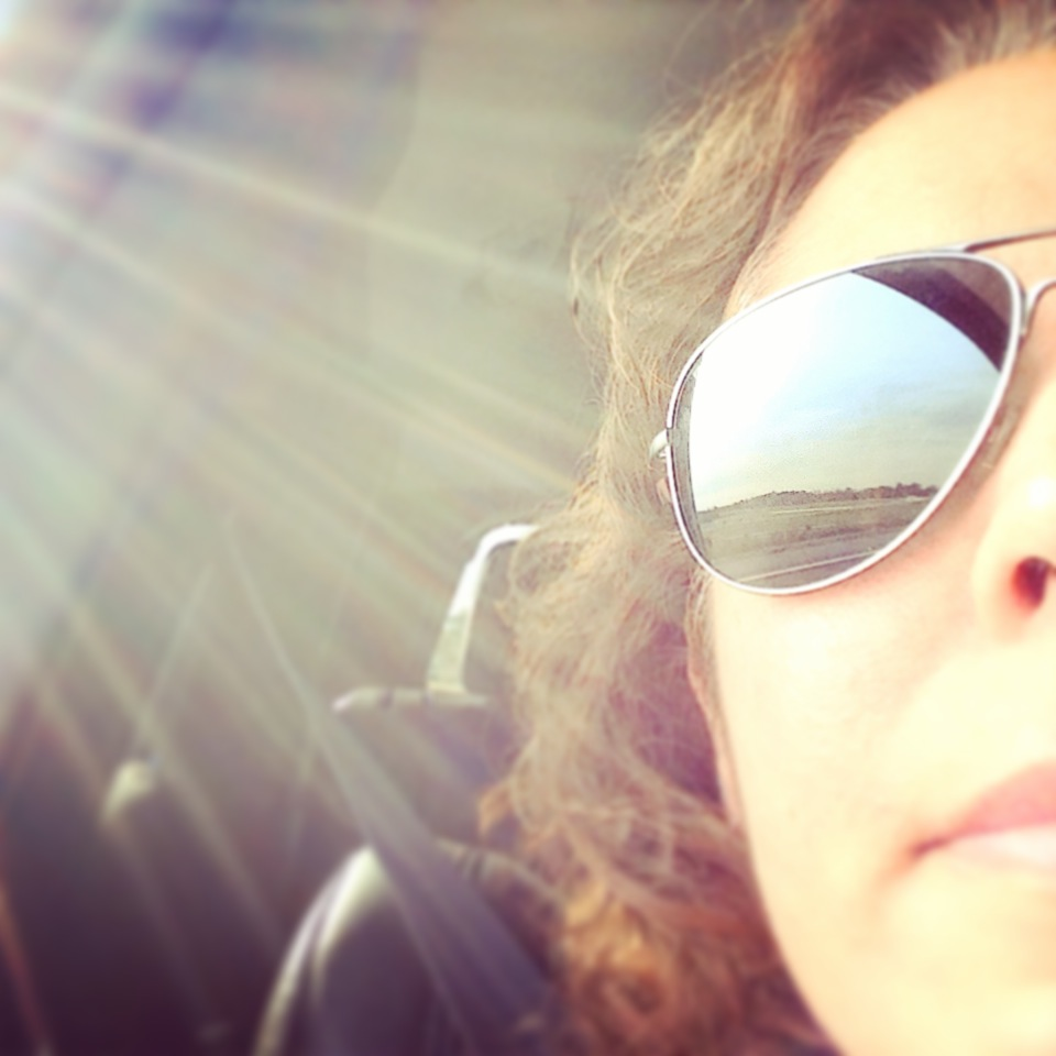 #selfies and #sunrays