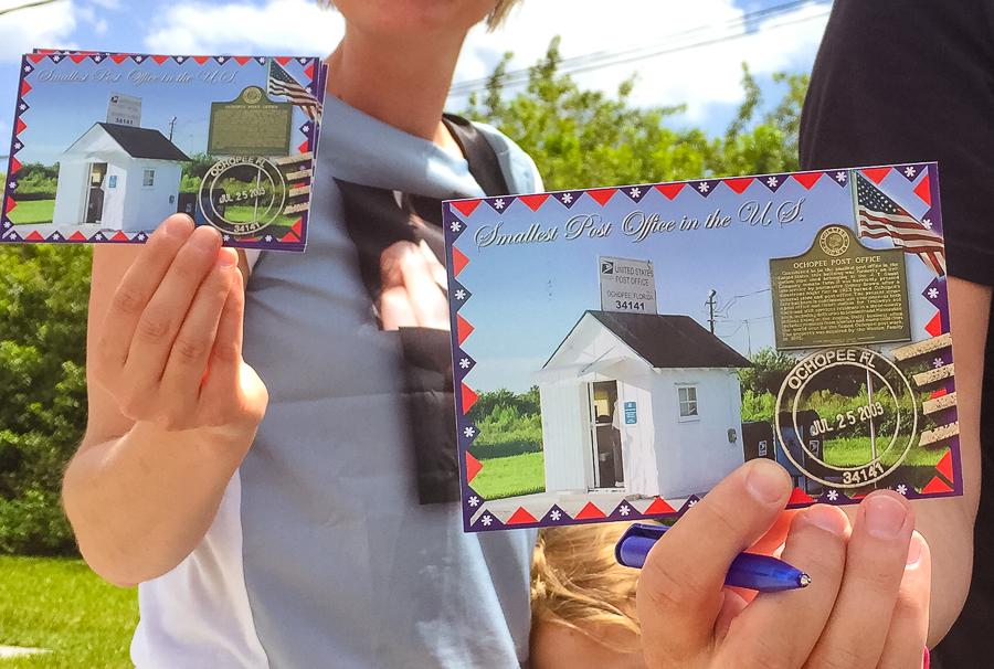 Ochopee postcards, Ochopee, Florida