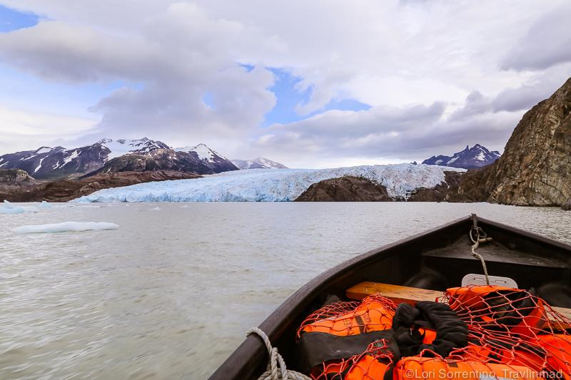 Lago Grey boat ride to Glacier Grey