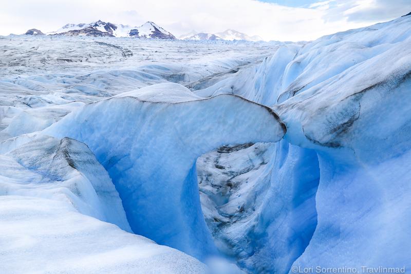 Ice cave, Glacier Grey, Chile