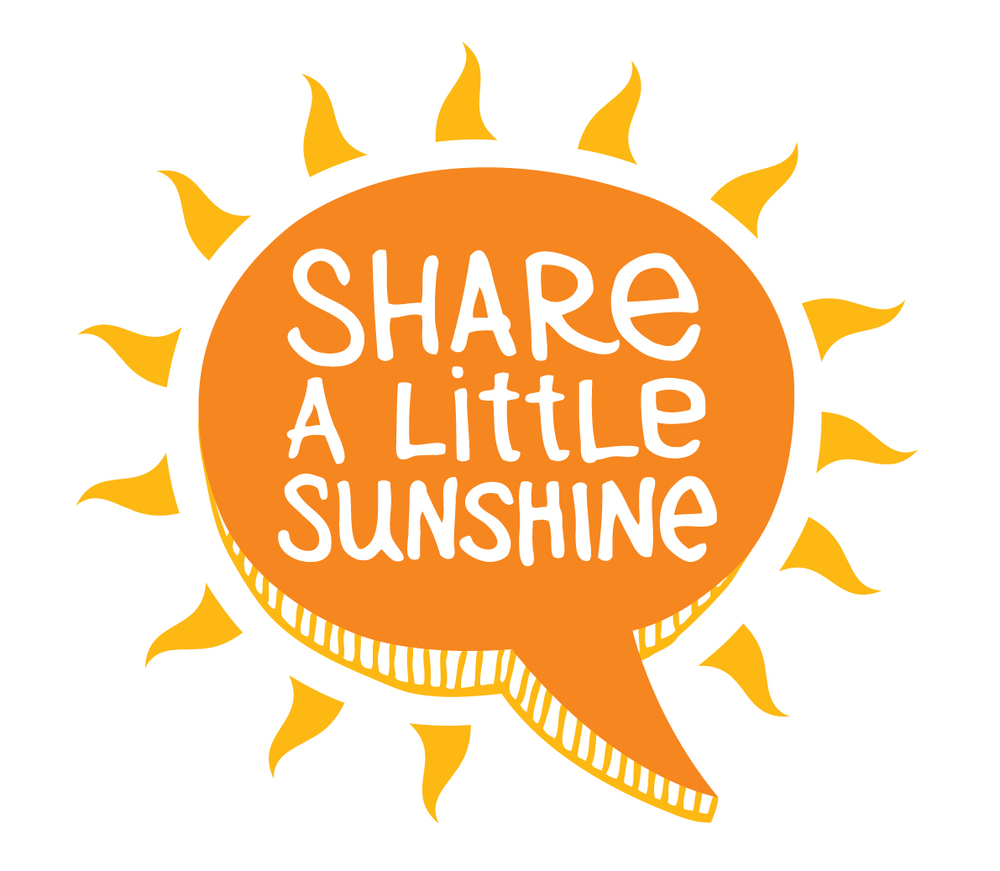 Share a little sunshine logo
