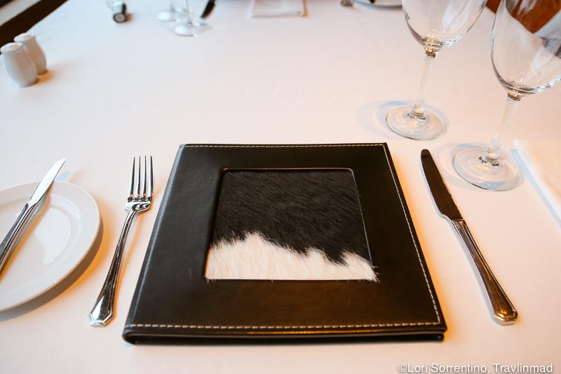 Organic menu design