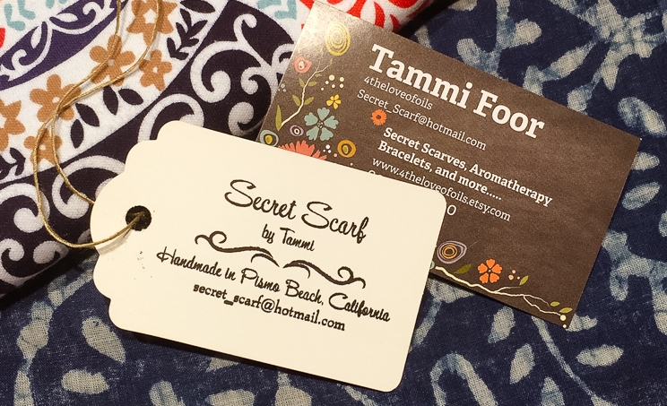 Secret Scarf by Tammi Foor