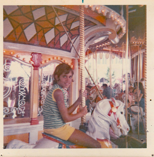That's me in Disney World in Florida circa 1973, shortly after it just opened