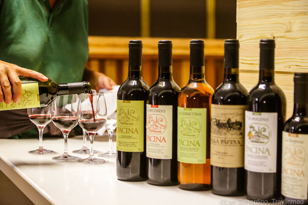 Chianti wine tour and tasting, Pacina Winery, Chianti Colli Senesi, Tuscany