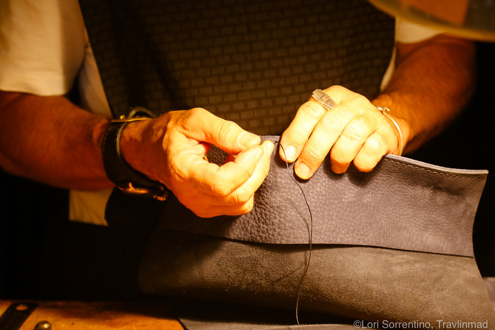 Florence Leather Craftsman, Italy
