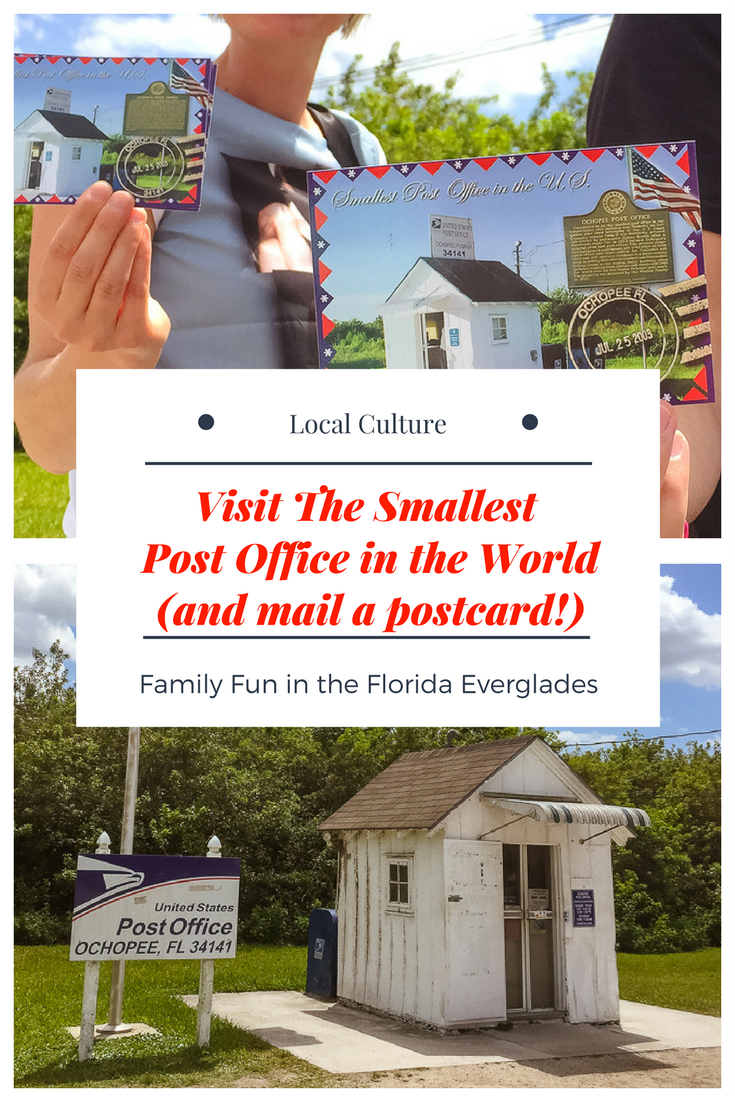 Smallest Post Office in the World, Ochopee, Florida