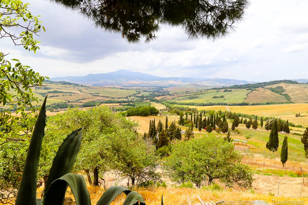 UNESCO valley, Podere Il Casale, Pienza, Tuscany, Italy
